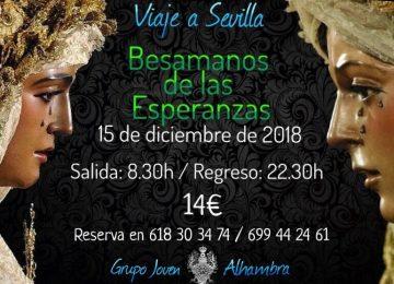 Viaje a Sevilla de los jóvenes de la Alhambra