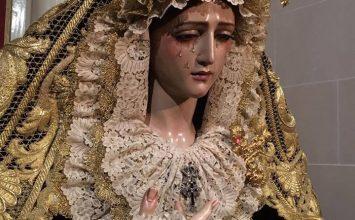 MARÍA VISTE DE LUTO. Rosario