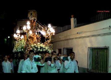 SALOBREÑA. Hoy, procesión Virgen del Rosario