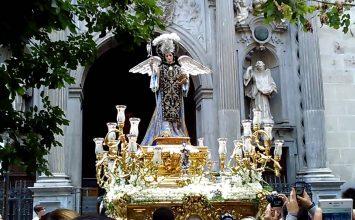 Procesión y cultos de San Rafael