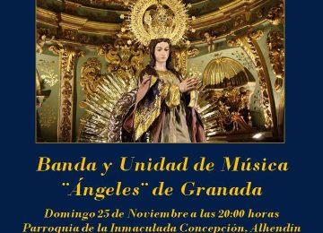 ALHENDÍN. Concierto en honor a la Inmaculada