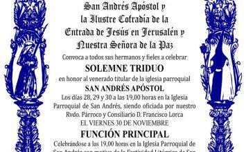 Cultos a San Andrés