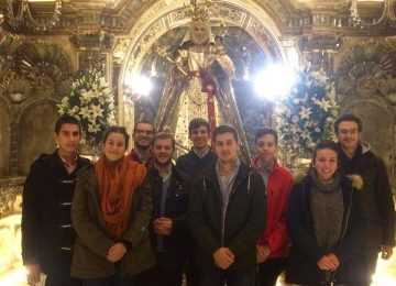 Convivencia de los jóvenes de Alhambra y Rosario Coronada