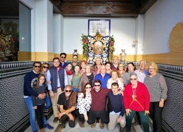 Los archicofrades de María Auxiliadora peregrinaron al Rocío