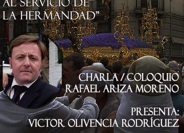 Charla de Rafael Ariza en Los Favores
