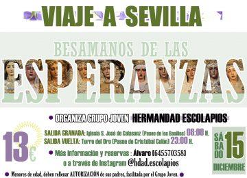 Escolapios organiza un viaje a Sevilla