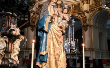 La Virgen de la Antigua, patrona de la Schola Pueri Cantores