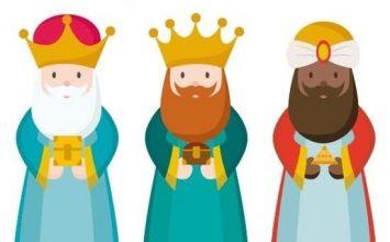 Reyes Magos en La Lanzada