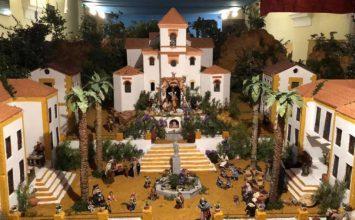 ALHAMA DE GRANADA. Monumental belén bíblico