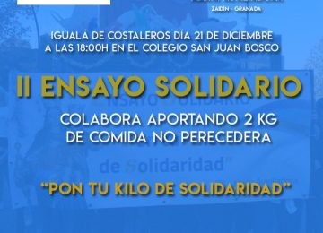 Ensayo solidario en el Zaidín