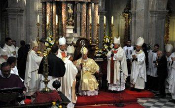 GUADIX. Tomó posesión el nuevo obispo