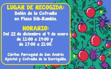 Campaña solidaria de La Borriquilla
