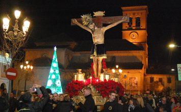 ALBOLOTE. El único crucificado de la Navidad