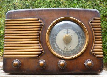 Programa en la radio