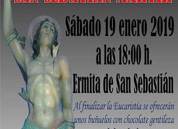ALMUÑÉCAR. Festividad de San Sebastián con la Piedad