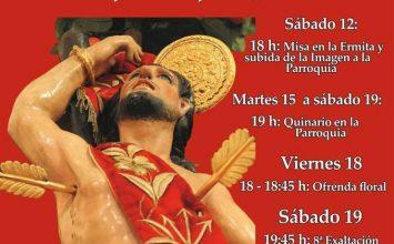 San Sebastián procesiona hoy en la provincia