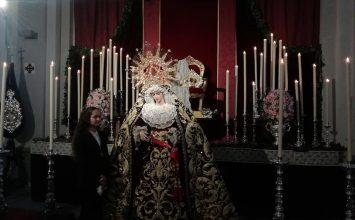 Se celebraron los cultos a la Virgen de la Paz