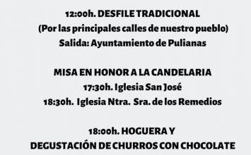 PULIANAS. Festividad de la Candelaria