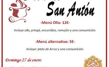 'Olla de San Antón' en La Lanzada