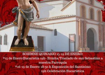 ÓRGIVA. Cultos a San Sebastián