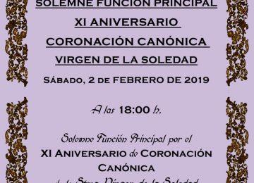 HUÉSCAR. Aniversario de la coronación de la Soledad