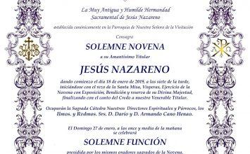 CHURRIANA DE LA VEGA. Cultos al Nazareno