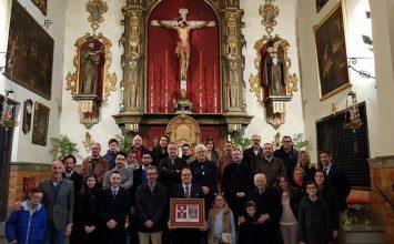 El pregonero es recibido en San Agustín