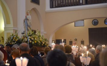 Celebrada la Virgen de Lourdes