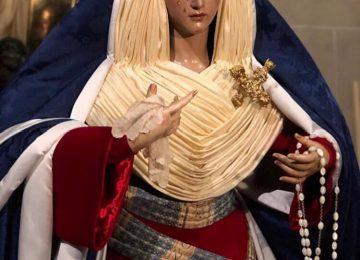 Rosario vestida de hebrea