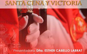 Hoy se presenta el cartel de la Santa Cena