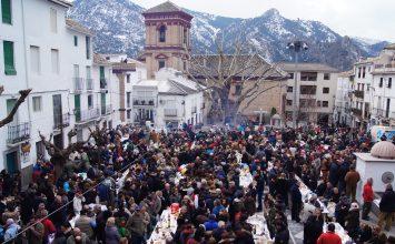 Fiesta de la Asadura en Güejar