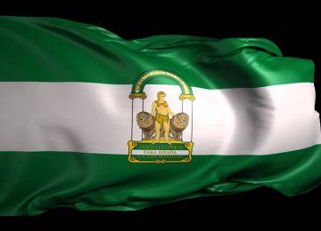 Bandera de Andalucía para la Federación de Cofradías
