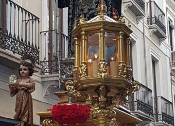 San Juan de Dios salió en procesión