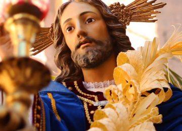 LOJA. Actos de la Entrada de Jesús en Jerusalén