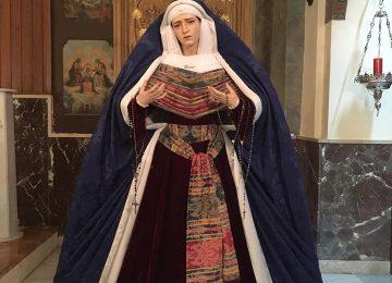 MOTRIL. La Virgen del Rosario de hebrea