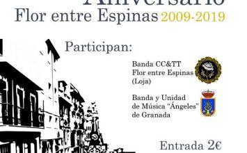 LOJA. Aniversario de 'Flor entre Espinas'