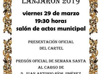 LANJARÓN. Pregón de Semana Santa