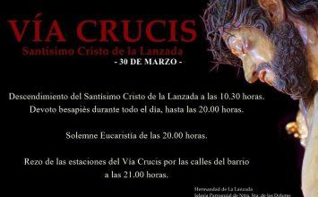 Hoy, viacrucis de La Lanzada