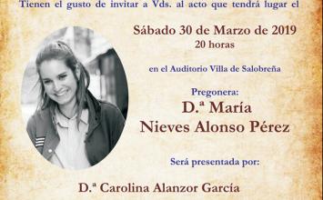 SALOBREÑA. Pregón de la Semana Santa 2019