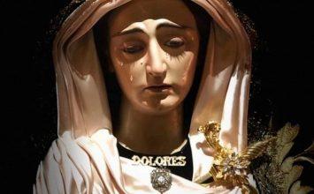 LOJA. La Virgen de los Dolores tras su restauración
