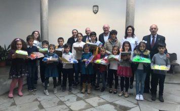 Ganadores del concurso infantil de la Federación