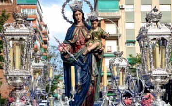 La Banda de Cúllar con María Auxiliadora