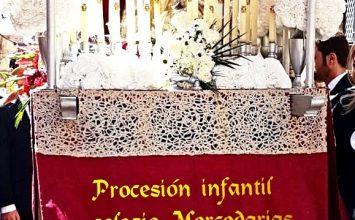 Procesión infantil de las Mercedarias