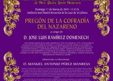 ALMUÑÉCAR. Pregón del Nazareno