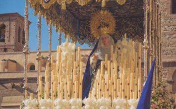 MOTRIL. Cartel de La Borriquita