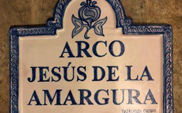 Un arco para Jesús de la Amargura