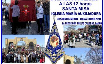 Hoy, procesión infantil en Salesianos