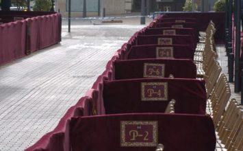 MOTRIL. Palcos y sillas para ver la Semana Santa