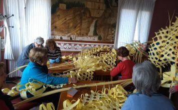 MONTEFRÍO. Palmas para el Domingo de Ramos