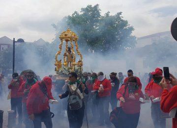 CÚLLAR VEGA. Celebrada la procesión de los petardos